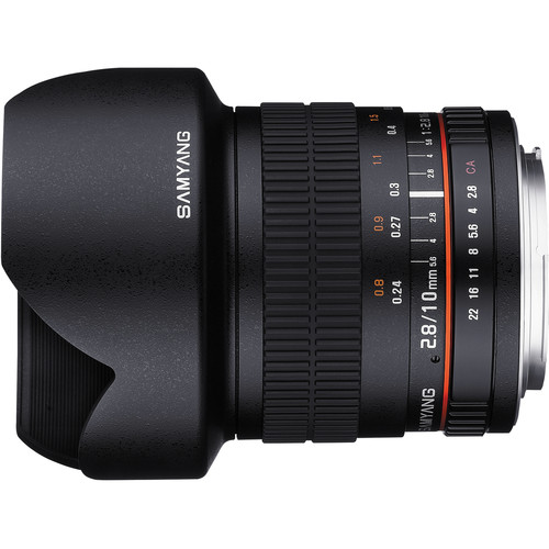 samyang 10m lens side