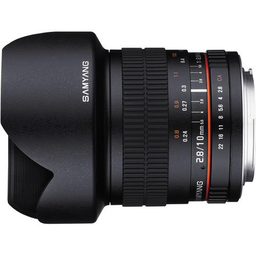samyang 10m lens side