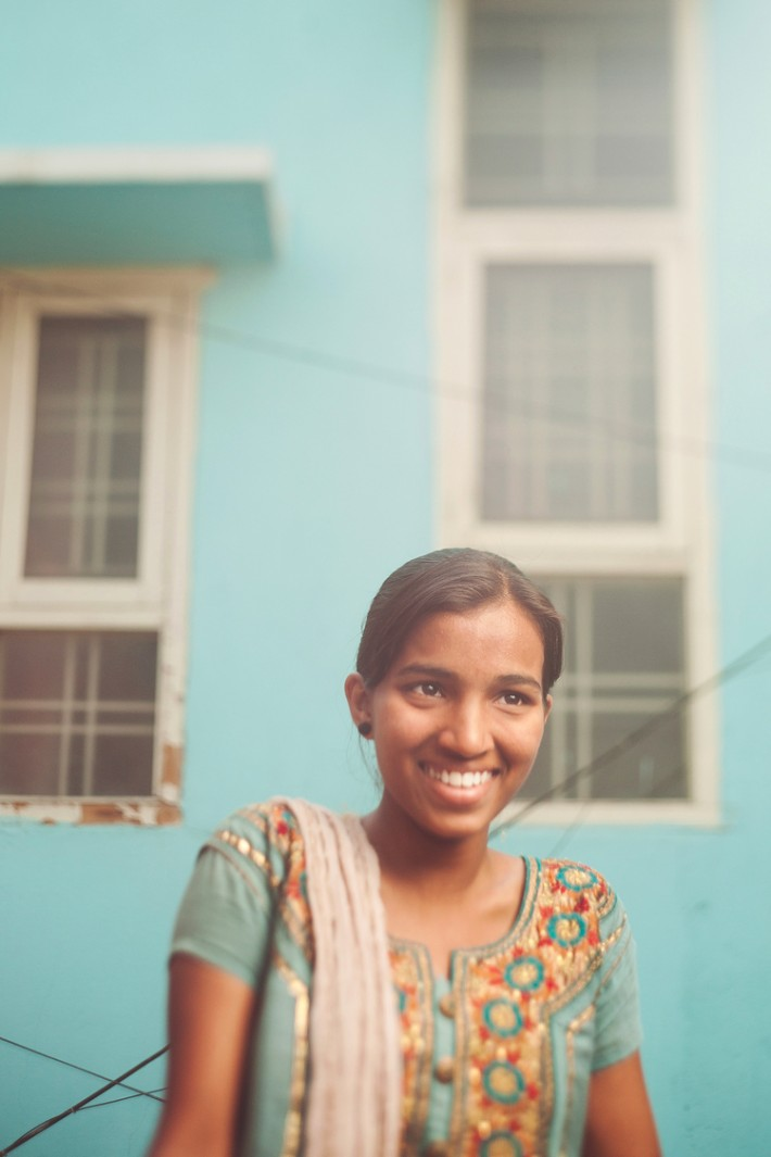 $20 purchase will give Swathi (pictured above) 2 outfits for school.