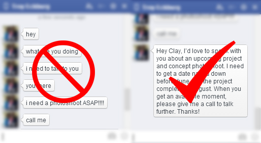 Social-Media-Etiquette-The-Do's-And-Don'ts-Of-Online-Interaction-Clay-Cook-Message