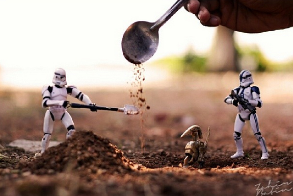 fstoppers Zahir Batin star wars creative toy  photography m
