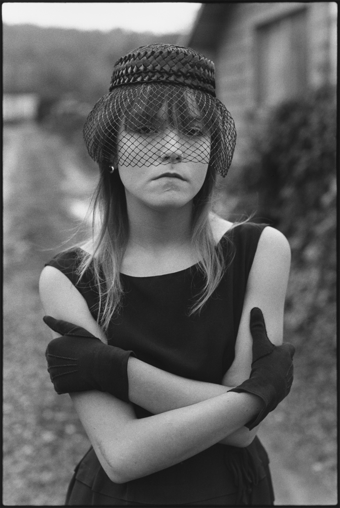Image name: Tiny in Her Halloween Costume, Seattle, Washington, USA 1983 Copyright: @Mary Ellen Mark