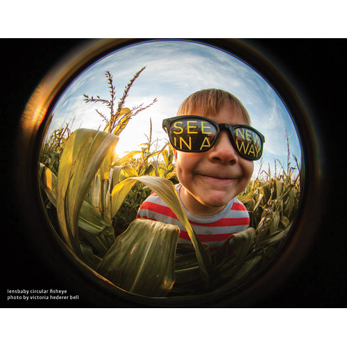 lensbaby fisheye lens photo by victoria hedere bell kid