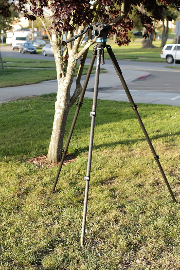 benro s8 video tripod 3