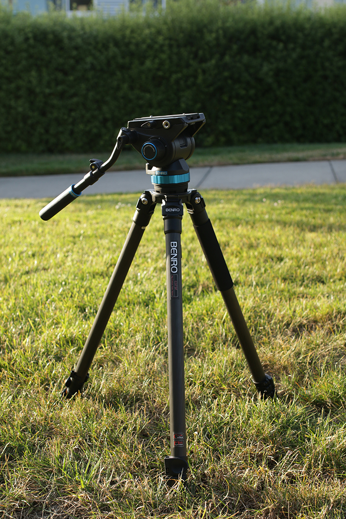benro s8 video tripod 5