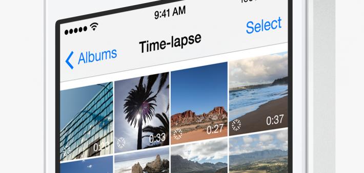 iOS 8 Timelapse