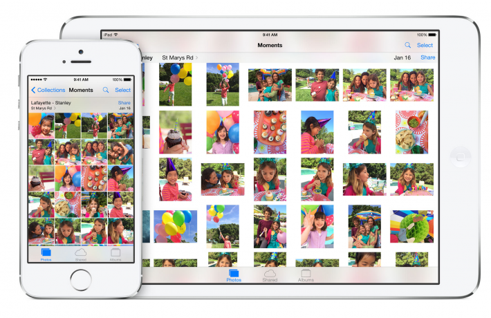 iOS 8 photos features